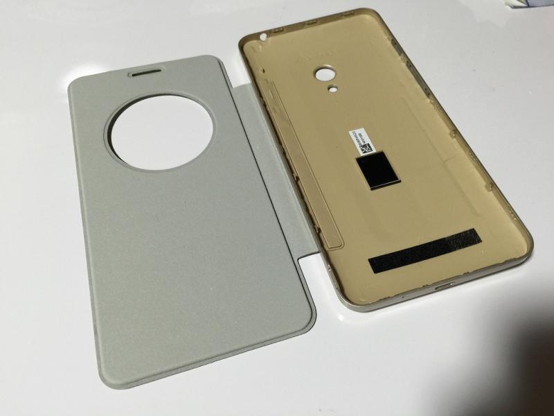 Zenfone5用フリップカバー 内側