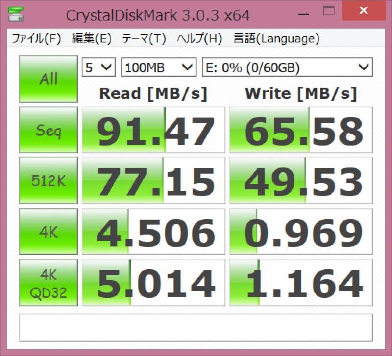 TS64GSDXC10U1速度