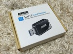 Anker製USB 3.0 SD/TFカードリーダー