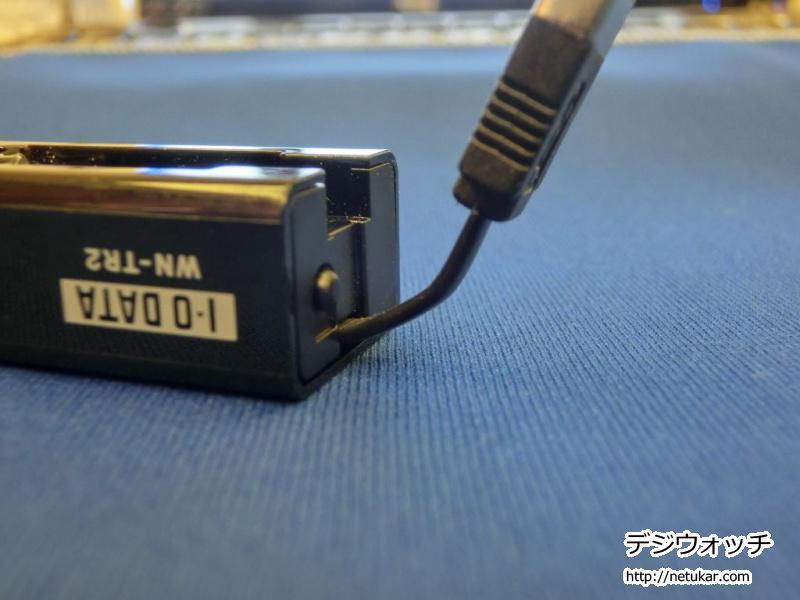 I-O DATAの150Mbpsポケットルーター