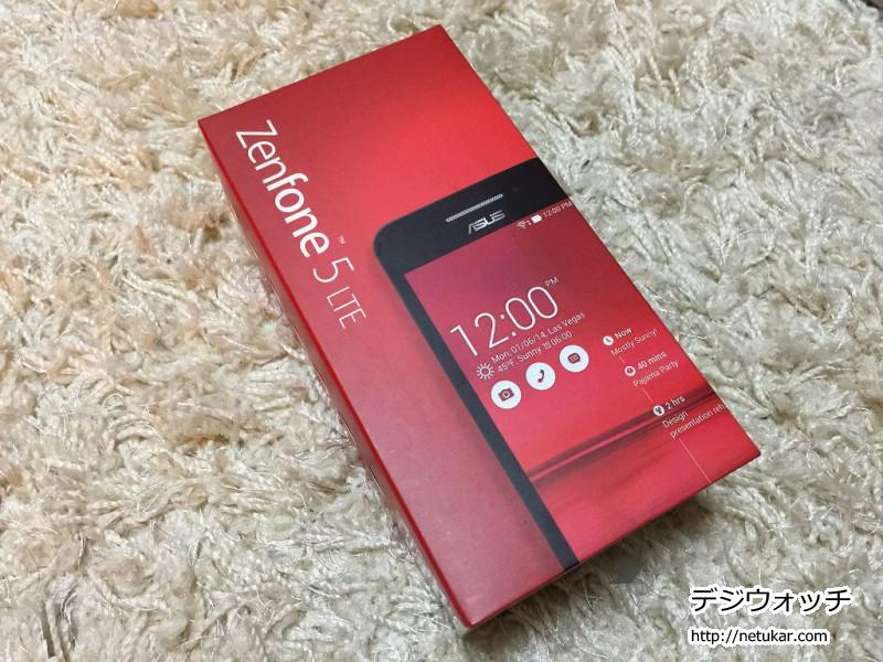 ZenFone5 red