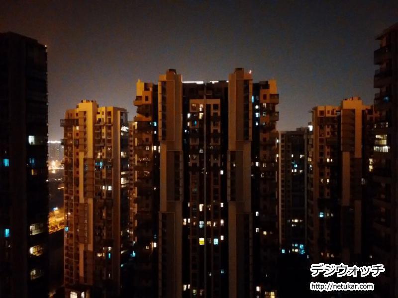 ZenFone5夜景モード