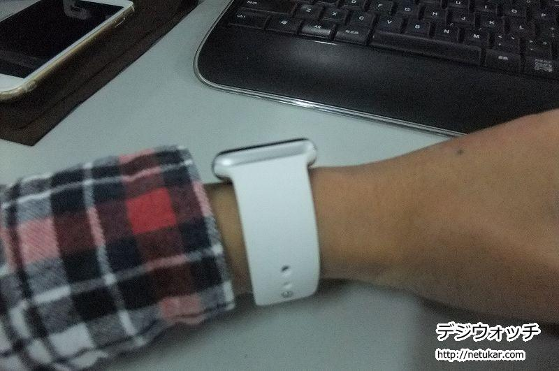 Apple Watchチラッ