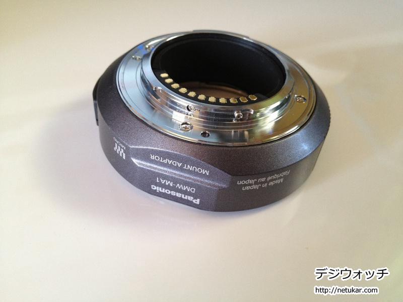 マウントアダプター DMW-MA102
