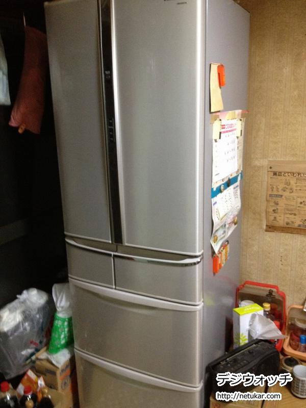 パナソニックトップユニット冷蔵庫 NR-F434T01