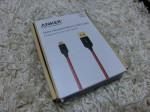 Anker 高耐久ナイロン Micro USB ケーブル 0.9m