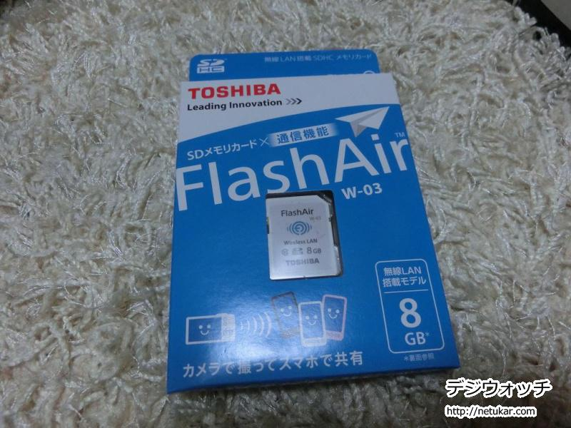 FlashAir 8GB SD-WC008G
