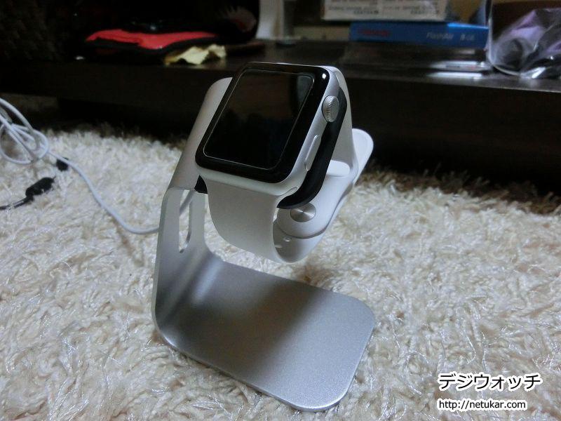 Apple Watchをのせる