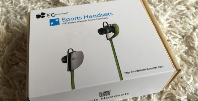 Bluetooth ワイヤレス スポーツイヤホン