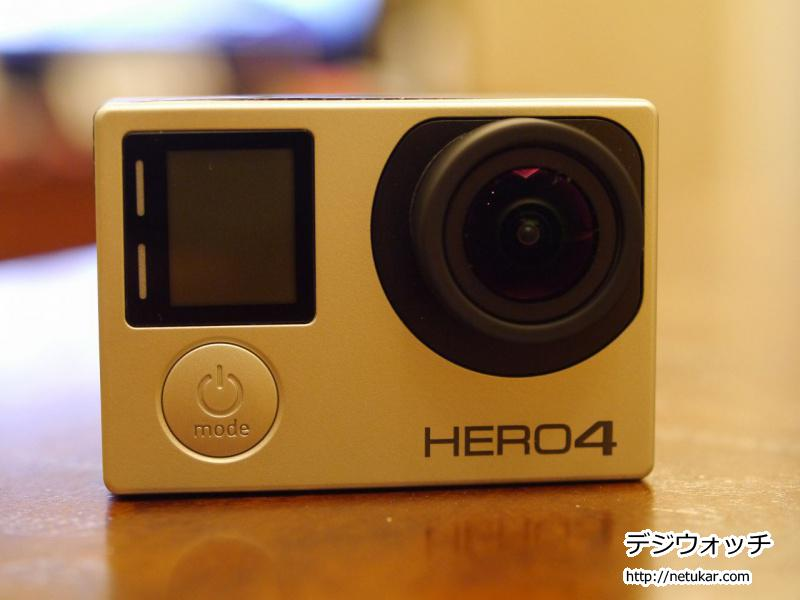 GoPro HERO4 silverを購入してみた